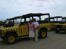 Photo of Aruba Natural Pool Jeep Adventure Stretching our legs