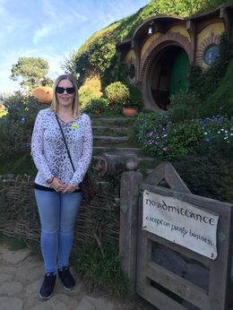 The main reason why I wanted to go to Hobbiton! The home of Bilbo and Frodo Baggins : , Trossi - May 2016