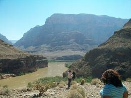 In the heart of the Grand Canyon West Rim - August 2011