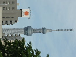Tour Skytree, prise depuis temple ASAKUSA , Michel L - May 2015
