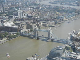 From the highest point allowed looking toward the Tower bridge , Kenneth A D - July 2013