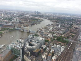 Photo of London The Shard London: The View from The Shard Tower Bridge view.jpg