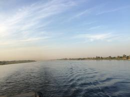 Photo of Luxor 8-Day Nile River Cruise from Luxor to Aswan with Optional Private Guide view from behind the ship
