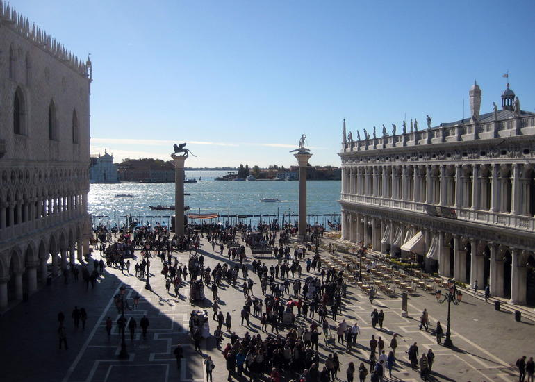 View from St Mark's Church - Venice