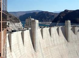Photo of Las Vegas Hoover Dam Top to Bottom by Luxury SUV with Colorado River Float View of Hoover Dam