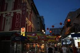 Photo of Singapore Singapore's Chinatown Trishaw Night Tour Walking through Chinatown - Singapore