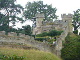 the oldest part of Warwick Castle , Vida V W - August 2014
