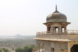 This balcony is where Shah Jahan would go to remember his wife, Mumtaz Mahal - September 2012