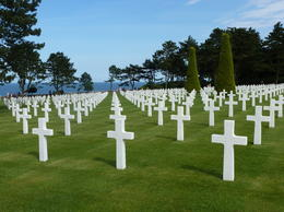 The American Cemetary above Omaha Beach is a sobering reminder of the sacrifice so many made. , Kevin F - September 2012