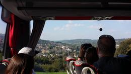 Leaving for Stonehenge. View of Bath from bus ride. , kwan w - October 2014