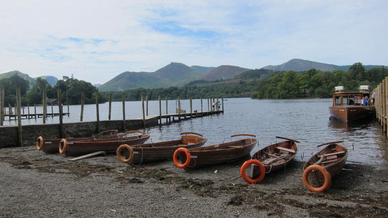 Derwent Water; the 2nd largest lake in the district - Lake District