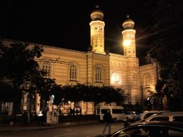 Photo of Budapest Budapest Night Walking Tour and River Cruise Great Synagogue - Dohany Utca - 2nd largest in world