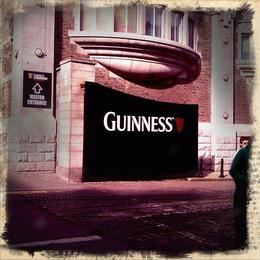 Outside the Guinness Factory! , Marcus W - March 2012