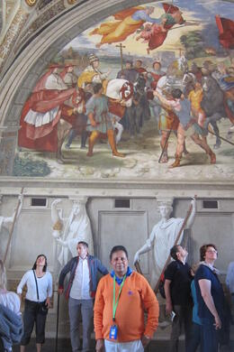 Photo of Rome Skip the Line: Vatican Museums Walking Tour including Sistine Chapel, Raphael's Rooms and St Peter's Inside the vatican