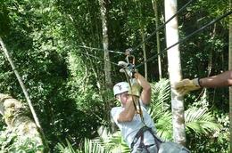Photo of Montego Bay Canopy Tour Landing hard