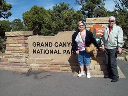 Celebrating our 25th Anniversary atop the GRAND CANYON! , Elizabeth T - May 2013