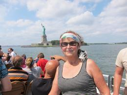 Photo of New York City New York CityPass Me with the Statue of Liberty