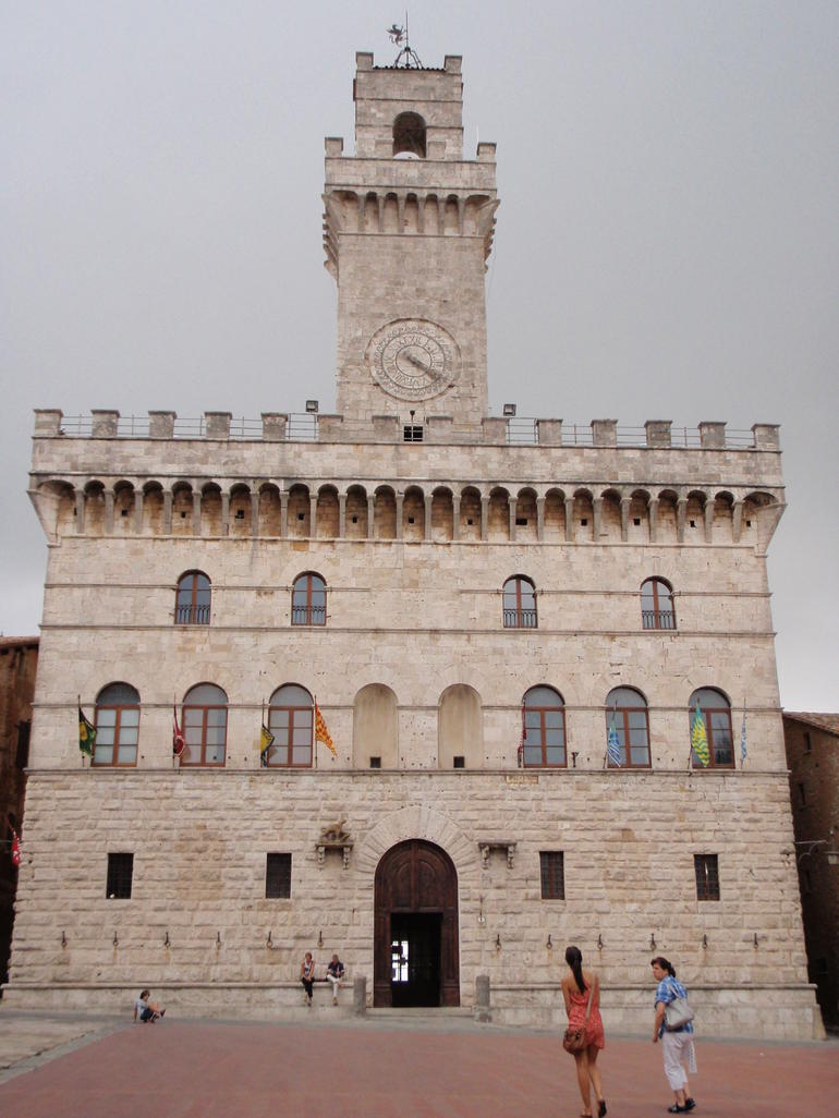 Montepulciano town hall - Rome