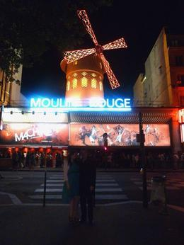 Us and the moulin rouge , Rebecca W - September 2012
