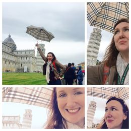 Finally saw the leaning tower! , michelle - October 2015