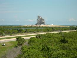 Launching pad A with shuttle attached, Charles L - October 2008