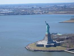 Photo of New York City New York Helicopter Flight: Grand Island Statue of Liberty