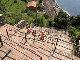 Photo of Florence Cinque Terre Hiking Day Trip from Florence Taking the stairs