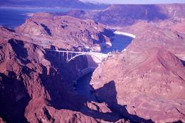 Passing the Hoover Dam , roseann - March 2011