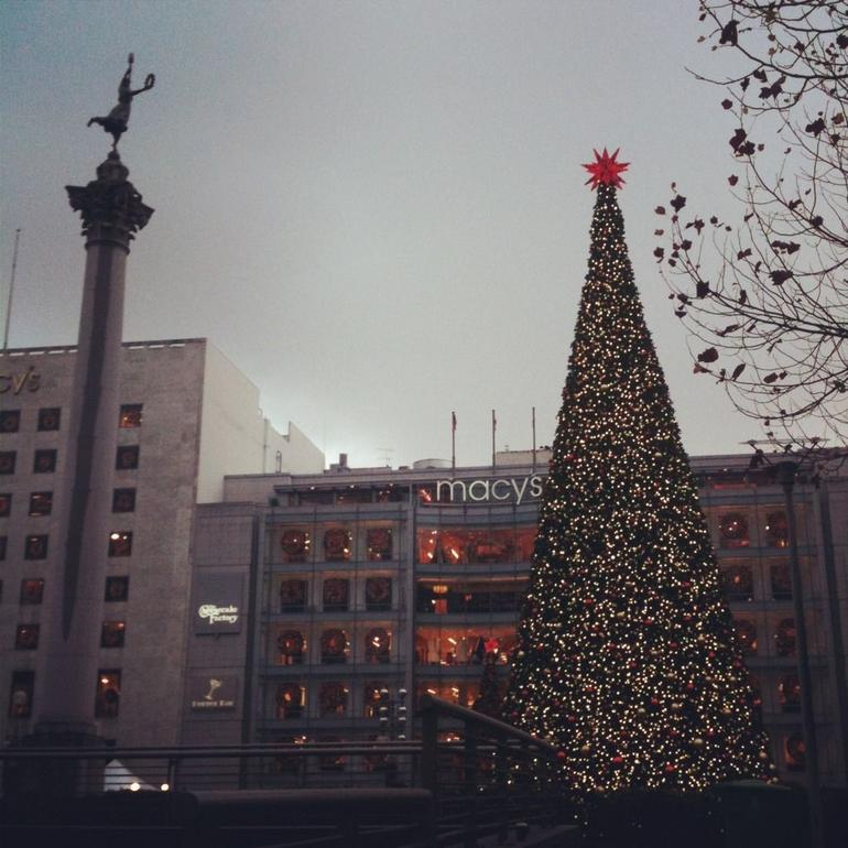 Union Square at Christmas - San Francisco
