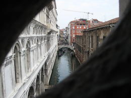 Photo of Venice Skip the Line: Doge's Palace Secret Itineraries Tour View of the canals from the Doge's Palace