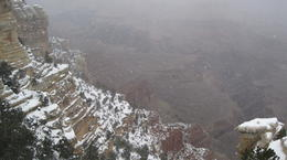 Photo of Las Vegas Grand Canyon South Rim Bus Tour with Optional Upgrades Winter in the Canyon