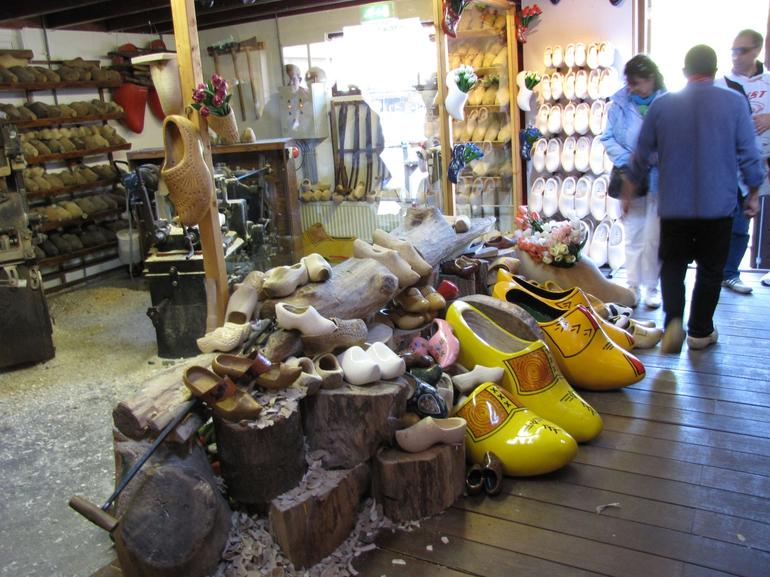 Wooden shoes of Amsterdam (clogs) - Amsterdam