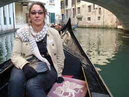 gondola ride! , Sharon L - October 2011