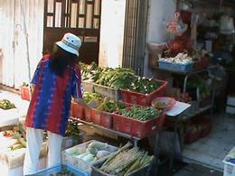 Photo of Hong Kong Cheung Chau (Long Island) Tour with Dim Sum lunch A typical fruit and vegetable stall