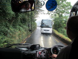 Our driver helped the facing driver to reverse. , Iain B - October 2013