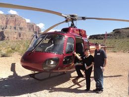 Photo of Las Vegas Grand Canyon All American Helicopter Tour Barb  John