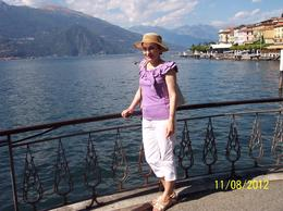 A view of Lake Como from Bellagio , Florentina H - August 2012
