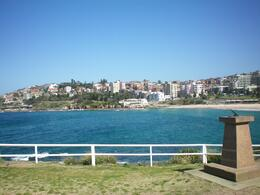 View of Coogee when approaching from Bondi, eva_afta - November 2010