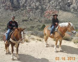 Photo of Las Vegas Morning Maverick Horseback Ride with Breakfast DSCN2645