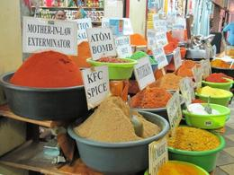 Spices on display at Victoria Market - February 2010