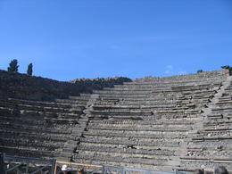 Pompei's theatre, still a good venue for performances! , Peter P - October 2012