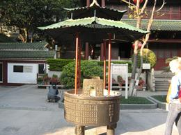 Photo of Hong Kong Guangzhou (Canton) China Day Trip from Hong Kong Incense burner at the temple