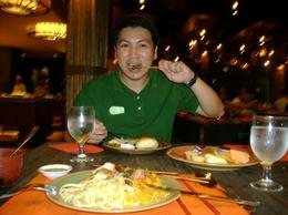Great dinner we are having! - May 2012