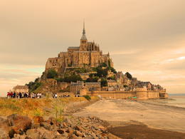 Mont St. Michel is an amazing place. , Kevin F - September 2012