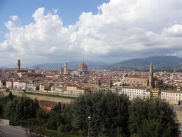 Photo of Florence Florence City Hop-on Hop-off Tour Outra vista da Piazzetta Michelangelo