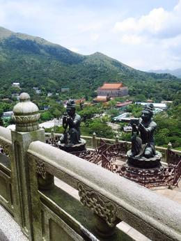 A view of Po Lin Monastery, from the Big Buddha , BethanieKay - July 2014