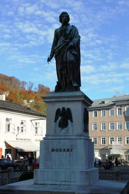 Mozart statue , Risto S - October 2013