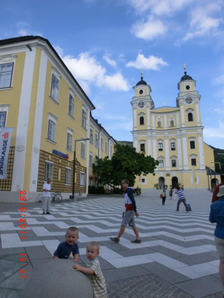 The church where The song of music film took place - Salzburg