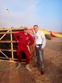 Photo of Dubai Dubai Hot Air Balloon Flight Atilla the Balloon Pilot