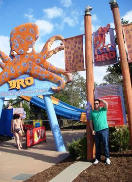 Photo of Gold Coast WhiteWater World Theme Park Gold Coast Australia Blue Ring Octopus Slide